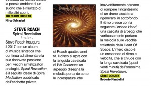 Click on the image above to read the review (in Italian)....