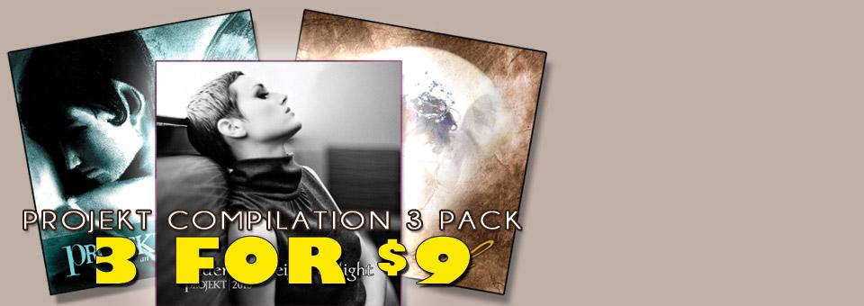 Projekt Compilations 3-pack