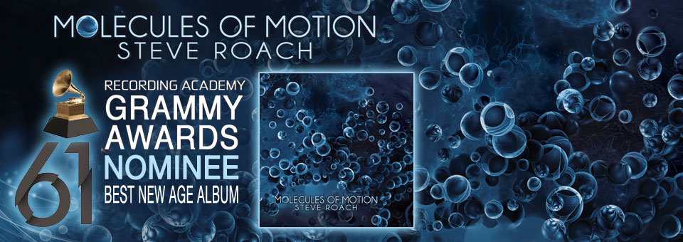 Steve Roach\'s 2nd consecutive Grammy nomination