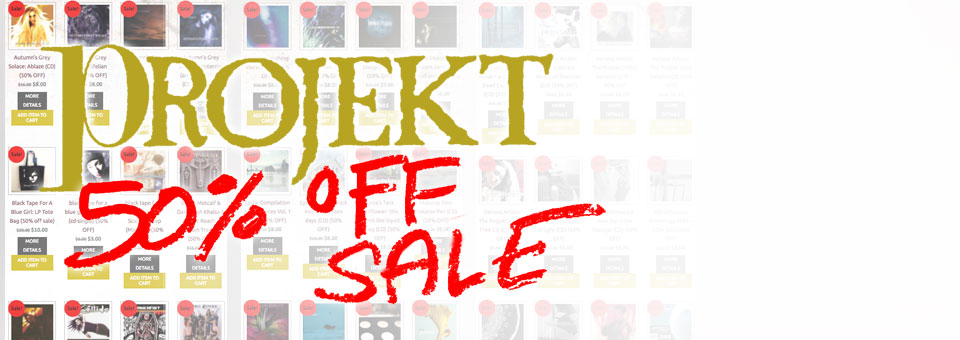 Get 50% Off hundreds of Projekt releases