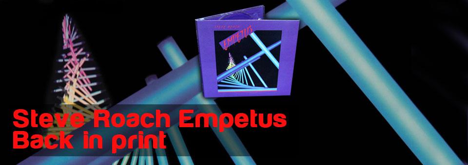 Steve Roach\'s 1986 electronic classic