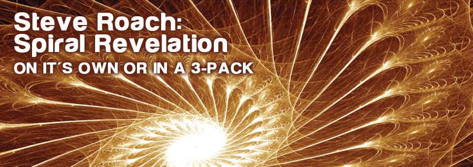 New releases from Steve Roach