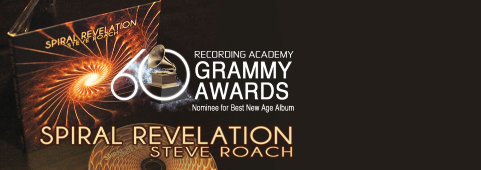 Electronic pioneer Steve Roach receives a grammy nomination!